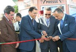 Sapress relooke ses kiosques à Marrakech