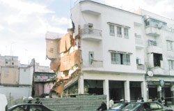 Effondrement d'un immeuble à Rabat