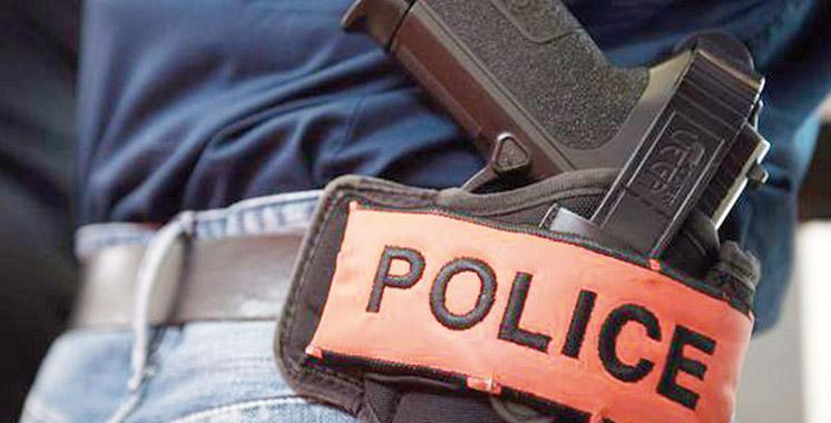 Ouled Teima : Un policier contraint à faire usage de son arme de service pour arrêter un malfrat