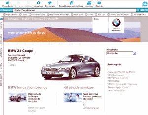 Smeia lance le site : «www.bmw.ma»