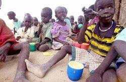 L'Afrique crie famine