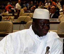 Jammeh cherche soutien au Maroc