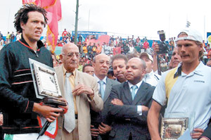 El Aynaoui triomphe à Marrakech