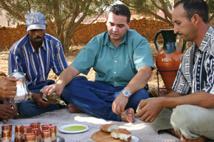 Youssef Gardam, ambassadeur de l'huile d'olive marocaine