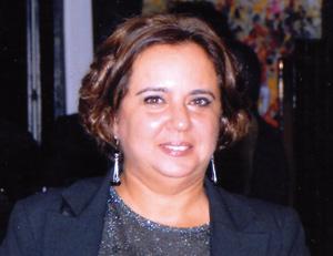 Zineb Rkha, une fervente passionnée de l'art abstrait
