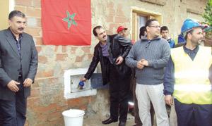 Inauguration des branchements sociaux du quartier Zouitina