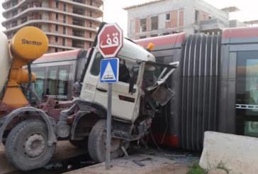 Les accidents de tramway coûtent  12 millions DH à la ville de Casablanca