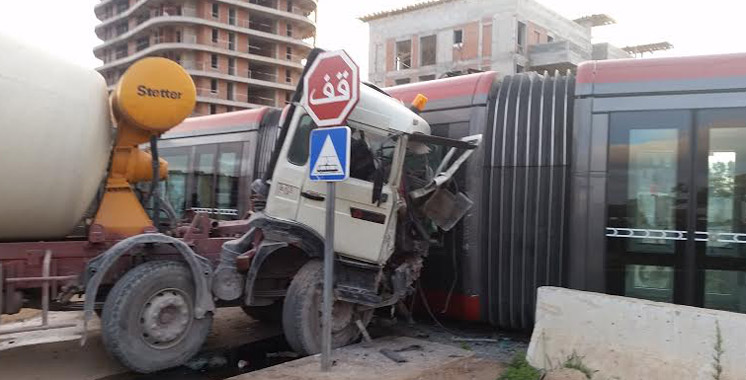 Casablanca : 141 accidents impliquant le tramway en 2018