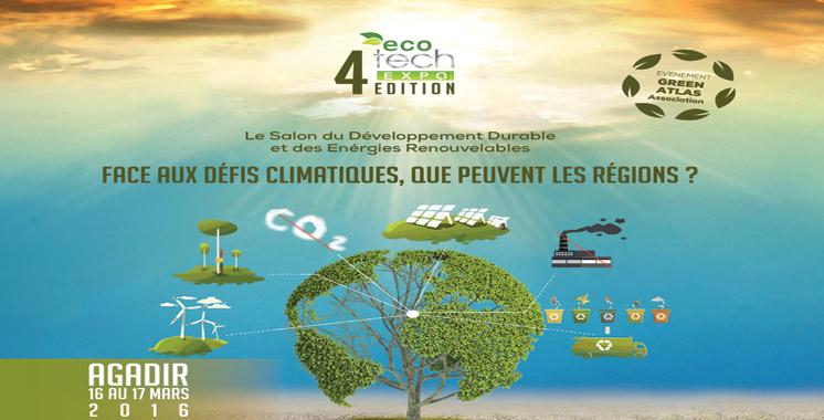 Changements climatiques : L'Eco Tech Expo s'ouvrira demain à Agadir