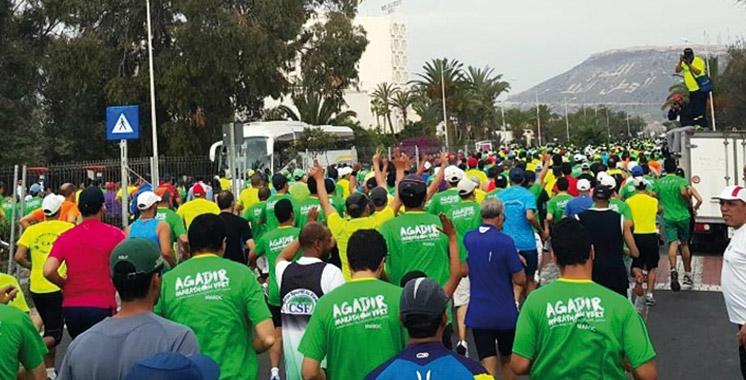 Marathon vert international: Agadir sans voitures le 24 avril