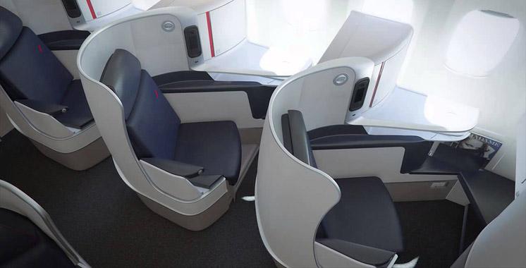 Casablanca : Air France présente son fauteuil business long-courrier