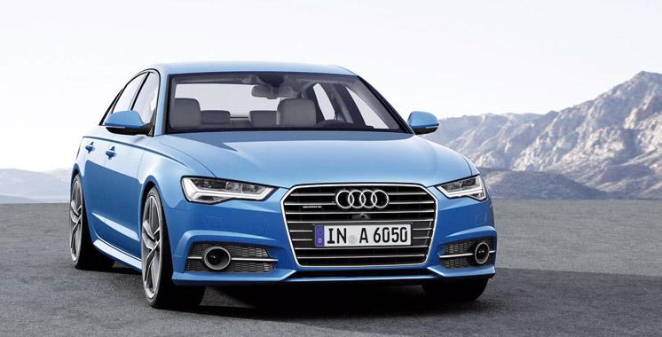 Audi A6 Facelift: Joli coup de fard !