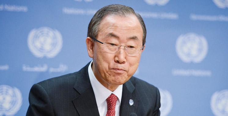 Ban Ki-moon pour la prorogation d'un an du mandat de la Minurso
