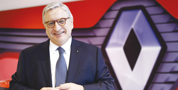 Bernard Cambier«Renault voit d'un bon oeil l'arrivée de PSA au Maroc»