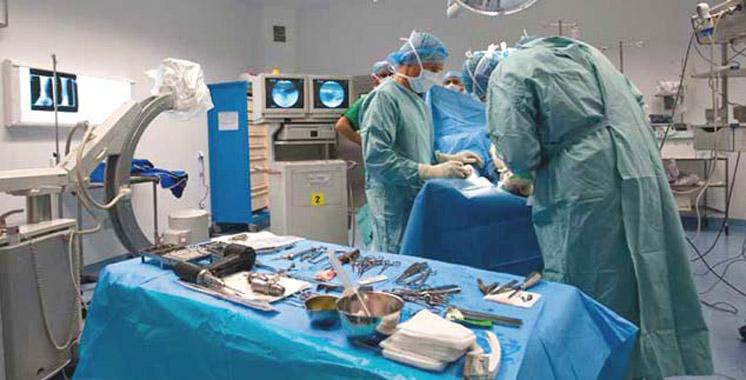 CHU d'Oujda: Première opération d'un rétrécissement aortique
