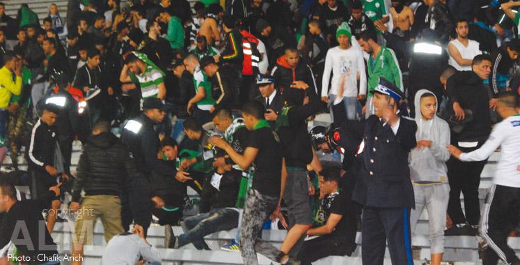 Hooliganisme à Casablanca: un à 4 mois de prison contre les fauteurs de troubles