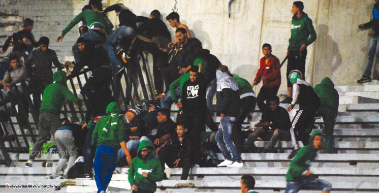 Hooliganisme à Casablanca : 111 supporters devant la justice