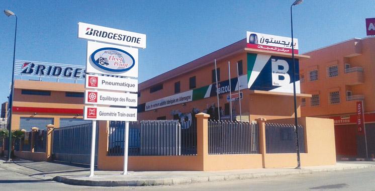 Bridgestone: Marrakech a son showroom !