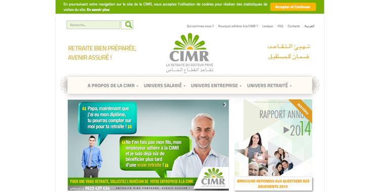 La CIMR lance un nouveau portail