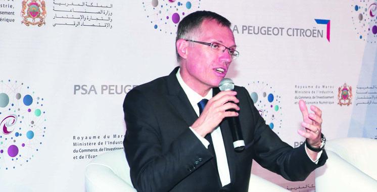 Carlos Tavares President du directoire de PSA kenitra