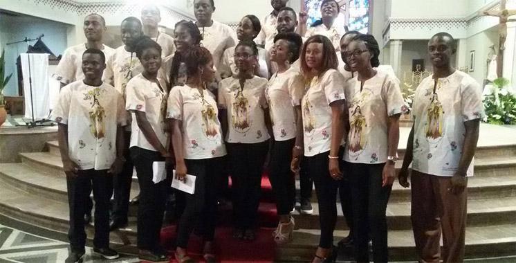 Concert : La Chorale africaine de la  Cathédrale de Rabat à la Villa des arts