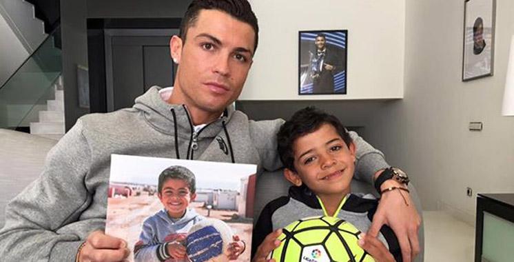 Cristiano Ronaldo met son image au profit des réfugiés syriens