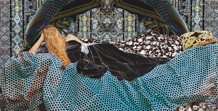 Exposition: Majida Khattari évoque la sensualité avec pudeur