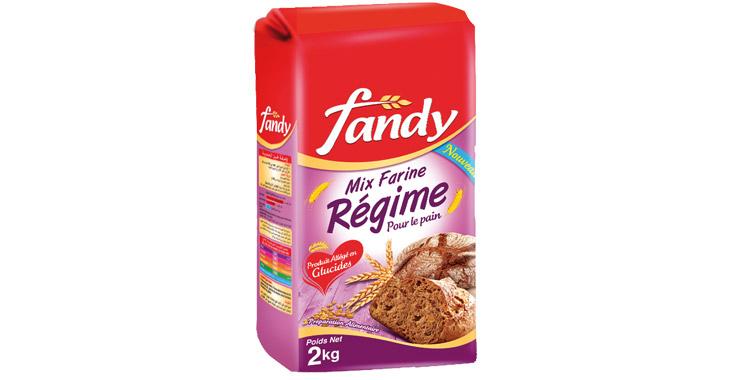 Fandy innove et lance la farine spécial régime