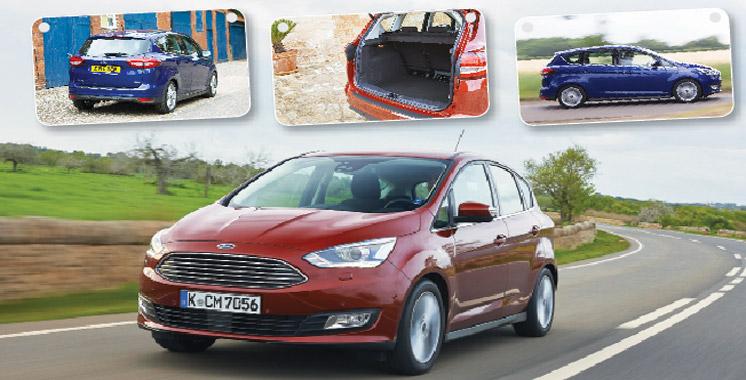 Nouvelles Ford C-Max: Un max de plaisir…