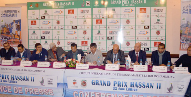 Tennis :  Marrakech abrite le GP Hassan II
