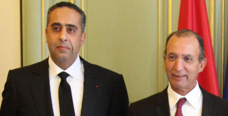 Visite de travail de Hassad et Hammouchi à Madrid