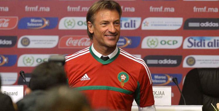 Équipe nationale : Hervé Renard dévoile sa première liste