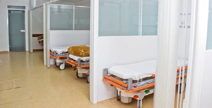 Distinction de l'hôpital psychiatrique Errazi de Tétouan