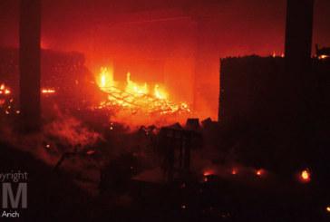 Incendie: importants dégâts matériels au marché de gros à Salé