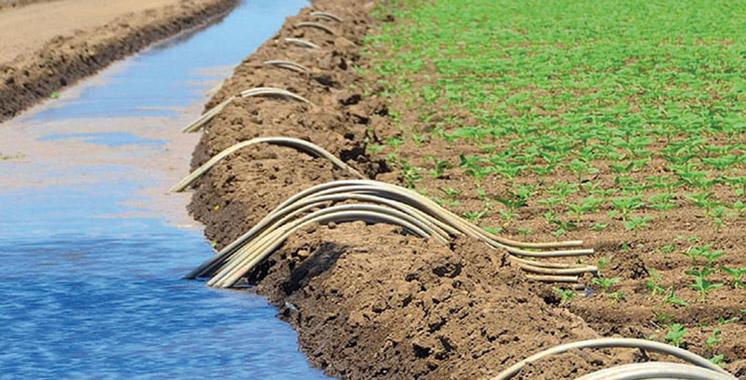 Le système d'irrigation marocain donné  en exemple