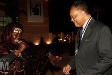 Crans Montana : le révérant américain Jesse Jackson danse à Dakhla