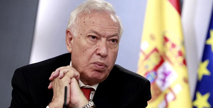Lutte antiterroriste: Margallo souligne le bon niveau de coordination entre l'Espagne, le Maroc et la France