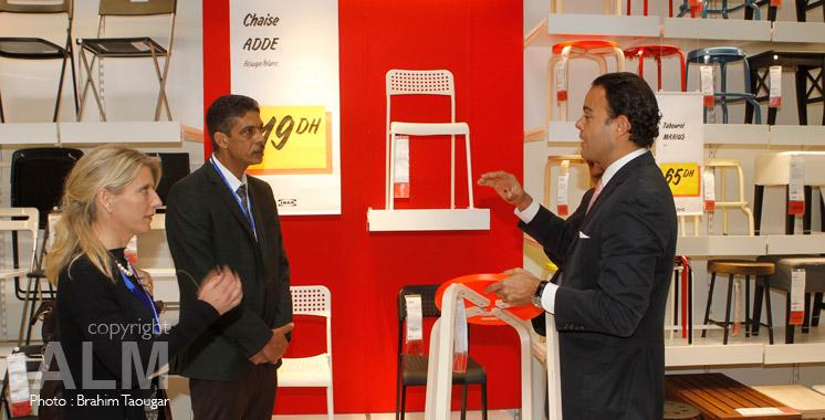 inauguration d ikea arriv e massive des 1ers clients aujourd 39 hui le maroc. Black Bedroom Furniture Sets. Home Design Ideas