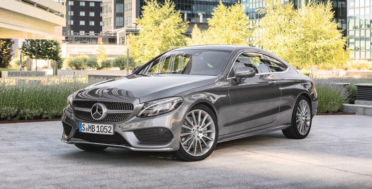 Mercedes Classe C : Le Coupé arrive en mars !