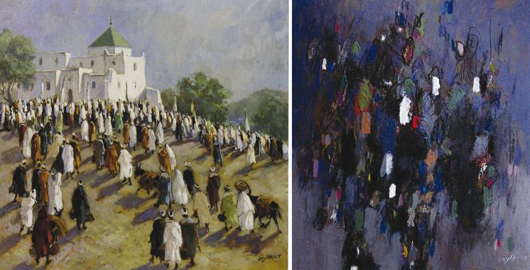 Exposition: Plus de 40 ans de peinture de Mohamed Krich à Casablanca
