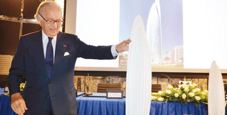 Le consortium sino-marocain construira la plus haute Tour d'Afrique