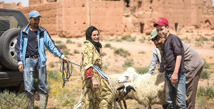 Ouarzazate-familles-populations