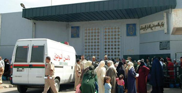 Casablanca : Elle comptait  introduire plus de 100 comprimés psychotropes  à la prison