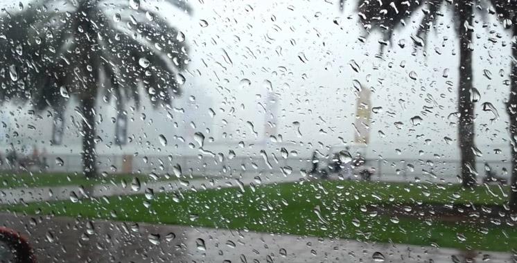 Alerte météo: Fortes pluies de lundi soir à mardi à midi dans plusieurs régions