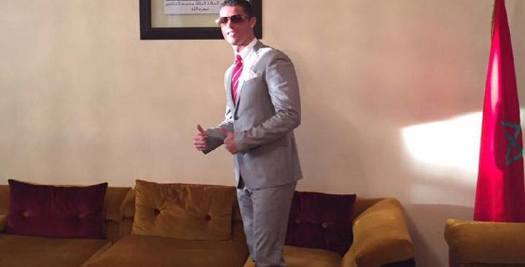 Ronaldo invité dans le bureau de Lahcen Haddad