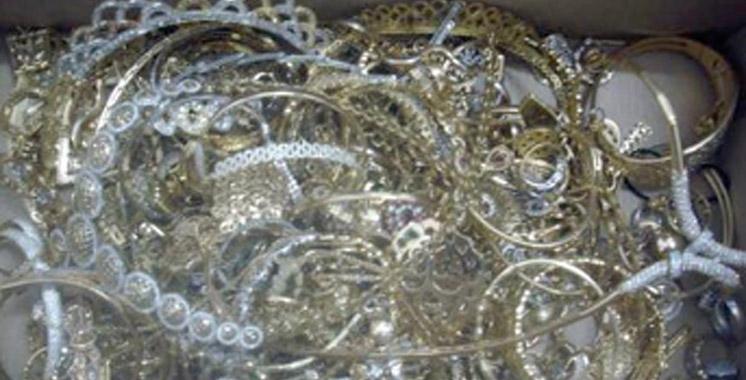 Bab Sebta: Une tentative d'introduction illégale de bijoux en or déjouée