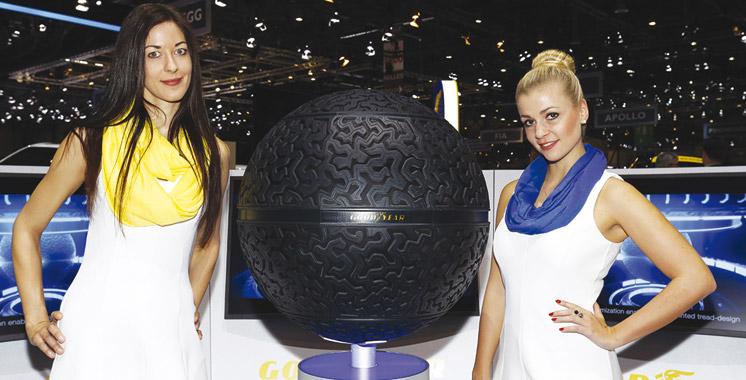 Salon de Genève: Goodyear présente un pneu… sphérique !