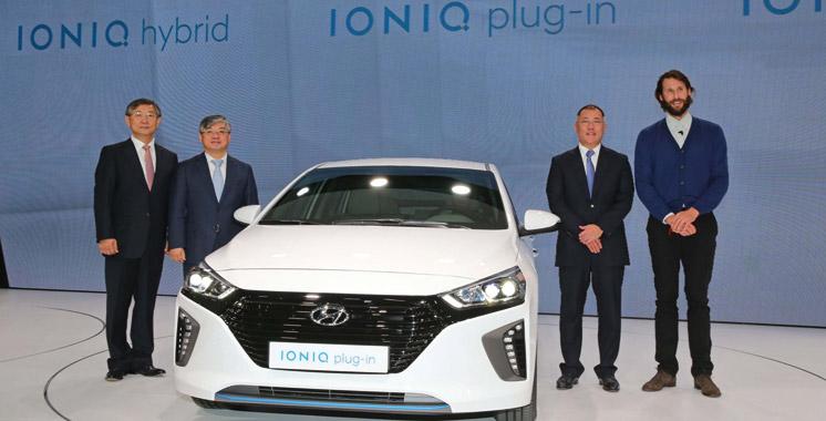 Salon de Genève: «Ioniq», le brillant projet  de Hyundai