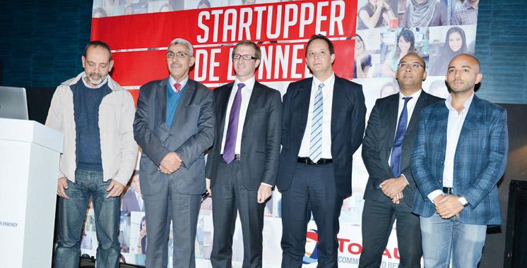 Startupper de l'année par Total: Dix candidats pour la finale