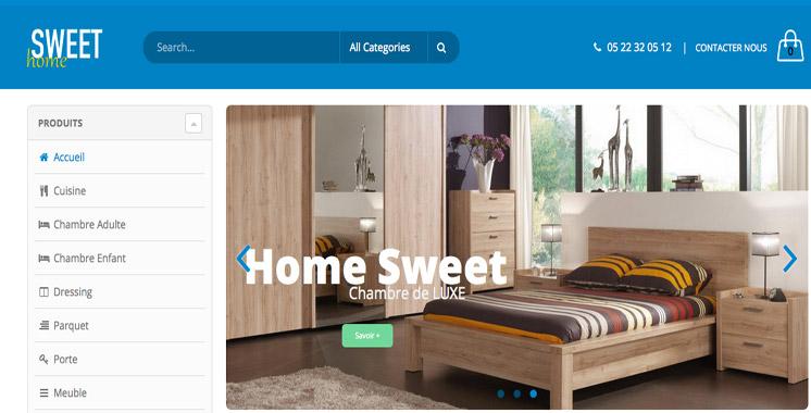 www.sweethome.ma : Nouveau portail de vente de meubles